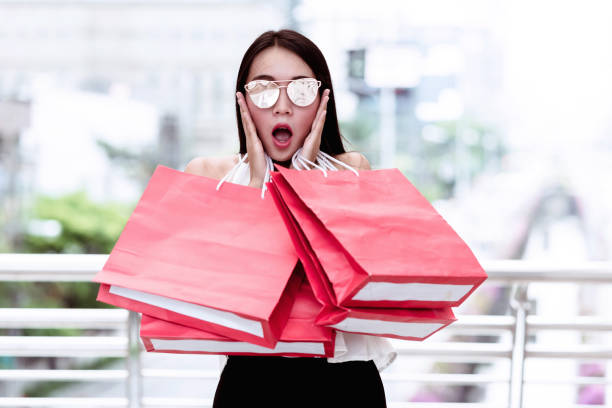 Shopping holiday. stock photo