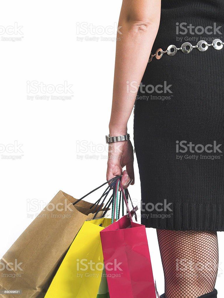 Shopping I royalty-free stock photo