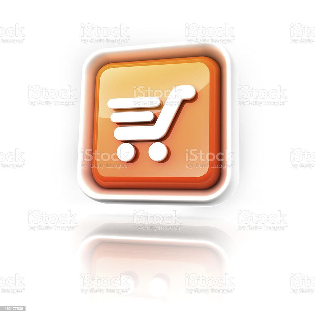 shopping icon royalty-free stock photo