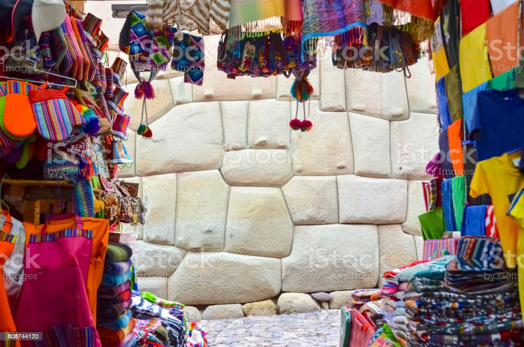 Shopping In Cusco Peru Stock Photo & More Pictures of Adult - iStock