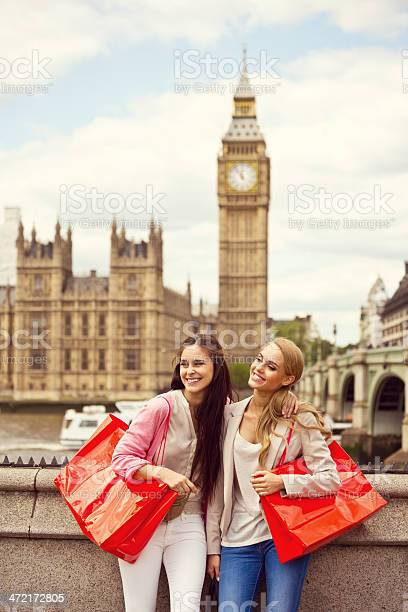 Shopping In London Stock Photo - Download Image Now
