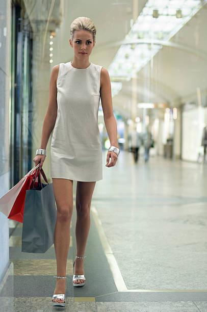 Einkaufen in manhattan – Foto