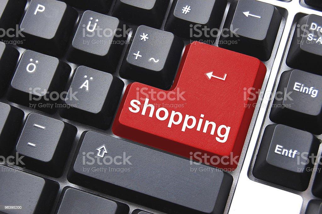 shopping key - Royalty-free Business Stock Photo