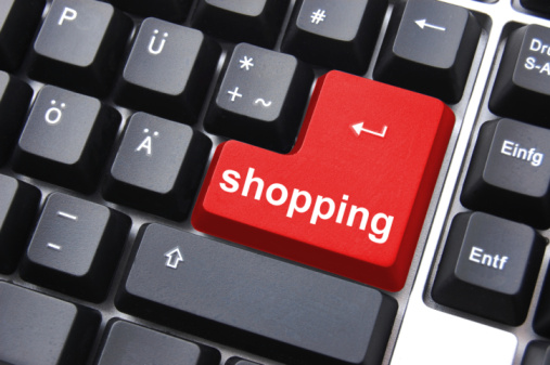 Shopping Key Stock Photo - Download Image Now