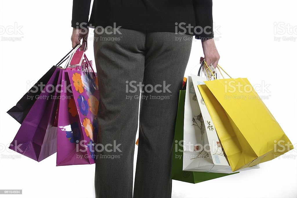 Shopping donna foto stock royalty-free