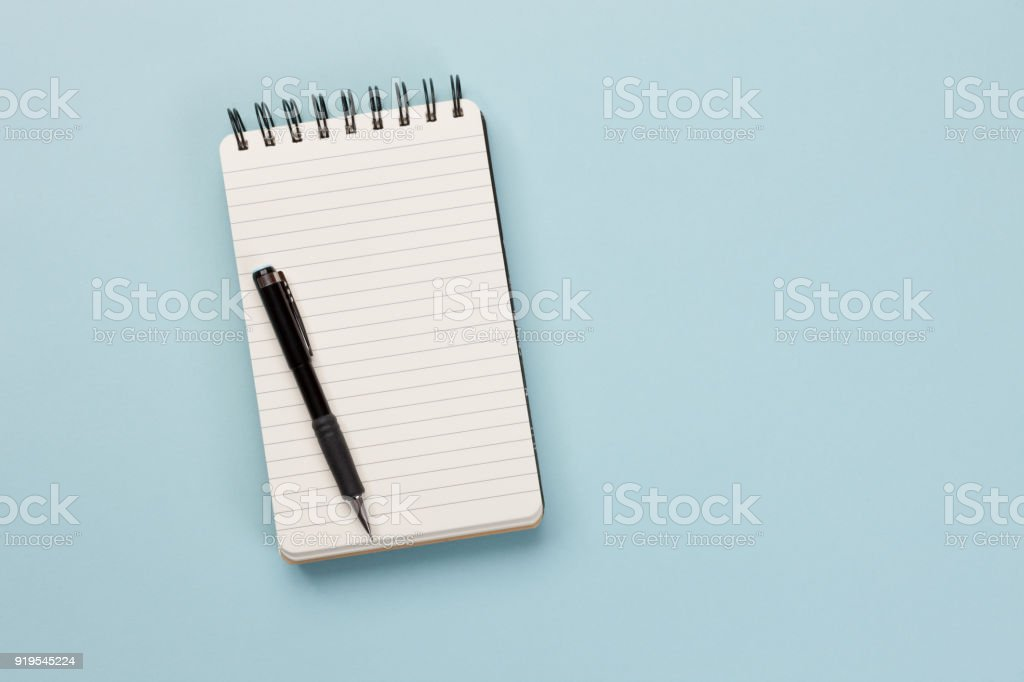 Shopping list - Concept stock photo