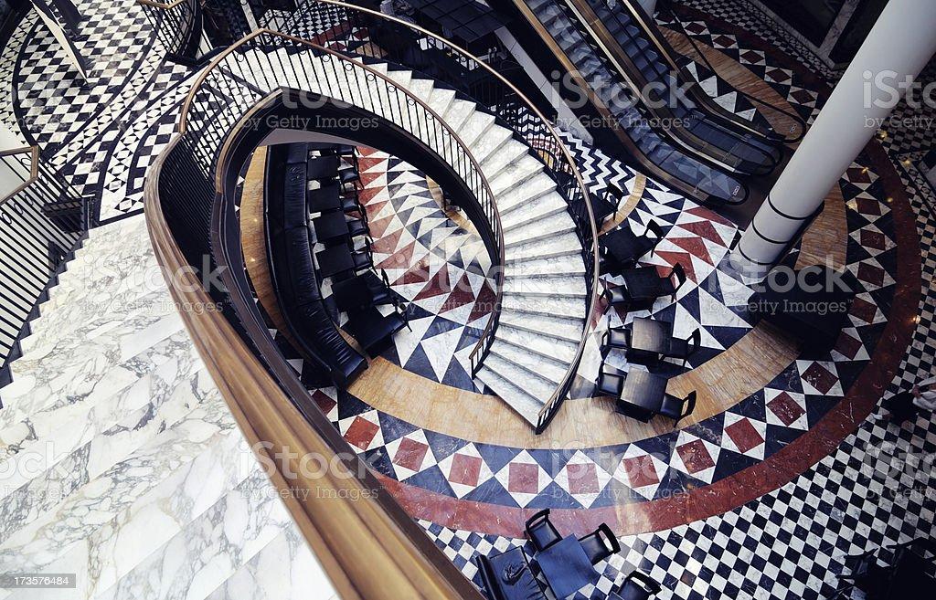 shopping mall berlin stock photo