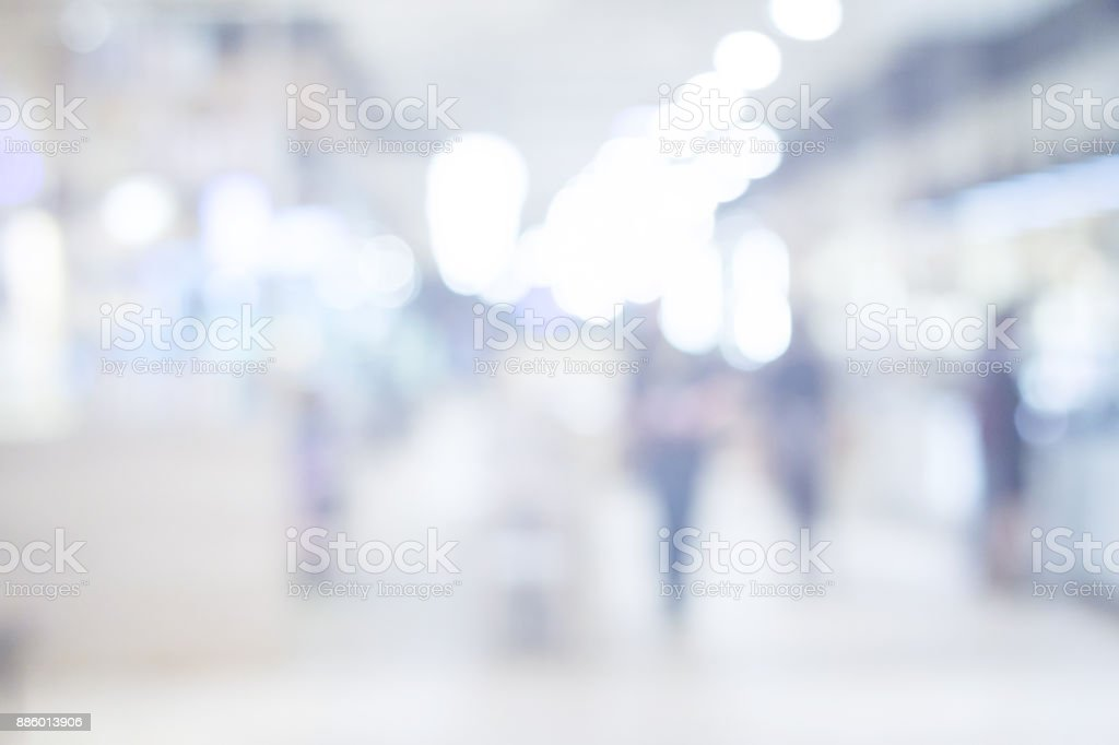 shopping mall blurry background royalty-free stock photo