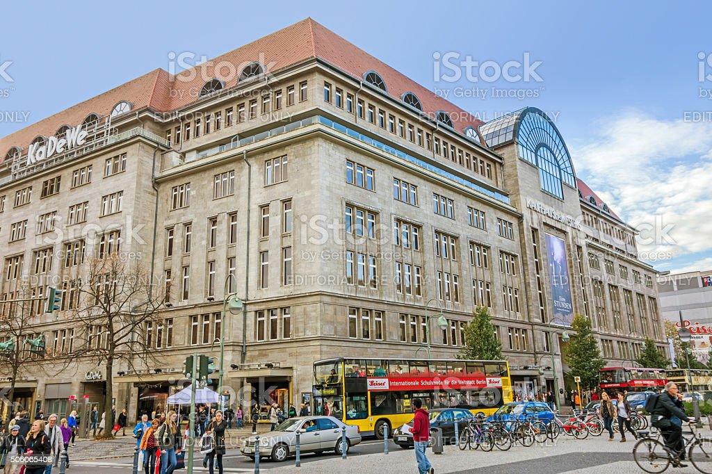 Einkaufszentrum Kadewe Kaufhaus Des Westens Berlin Stockfoto Und Mehr Bilder Von Architektur Istock