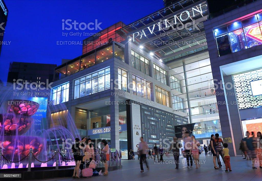 PAVILION Shopping mall Kuala Lumpur stock photo