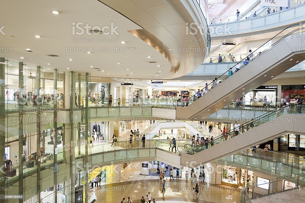 Shopping Mall royalty-free stock photo