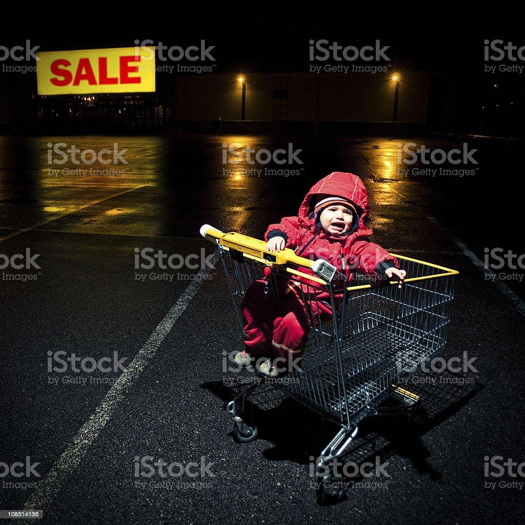 Shopping Mall Sale stock photo
