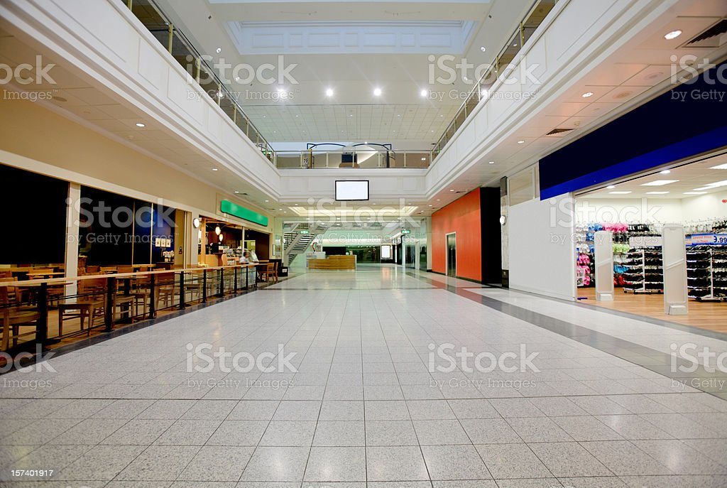 Shopping Mall-Related Images in Lightboxes Below stock photo