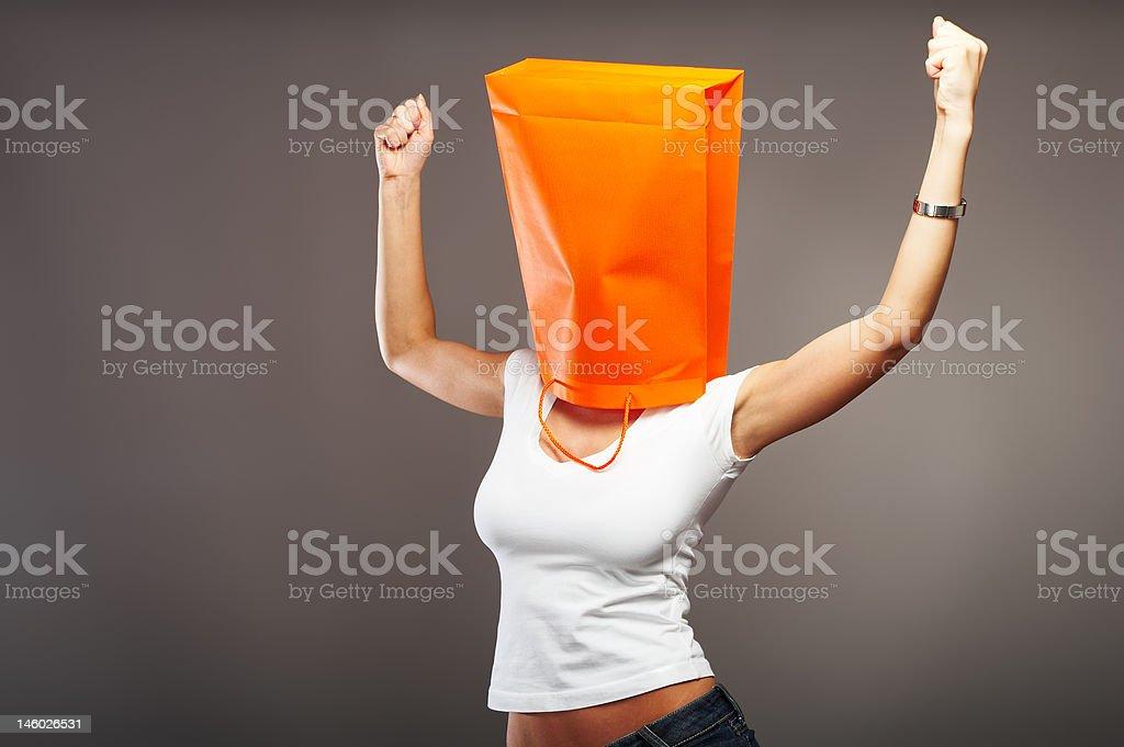 Shopping metaphor stock photo