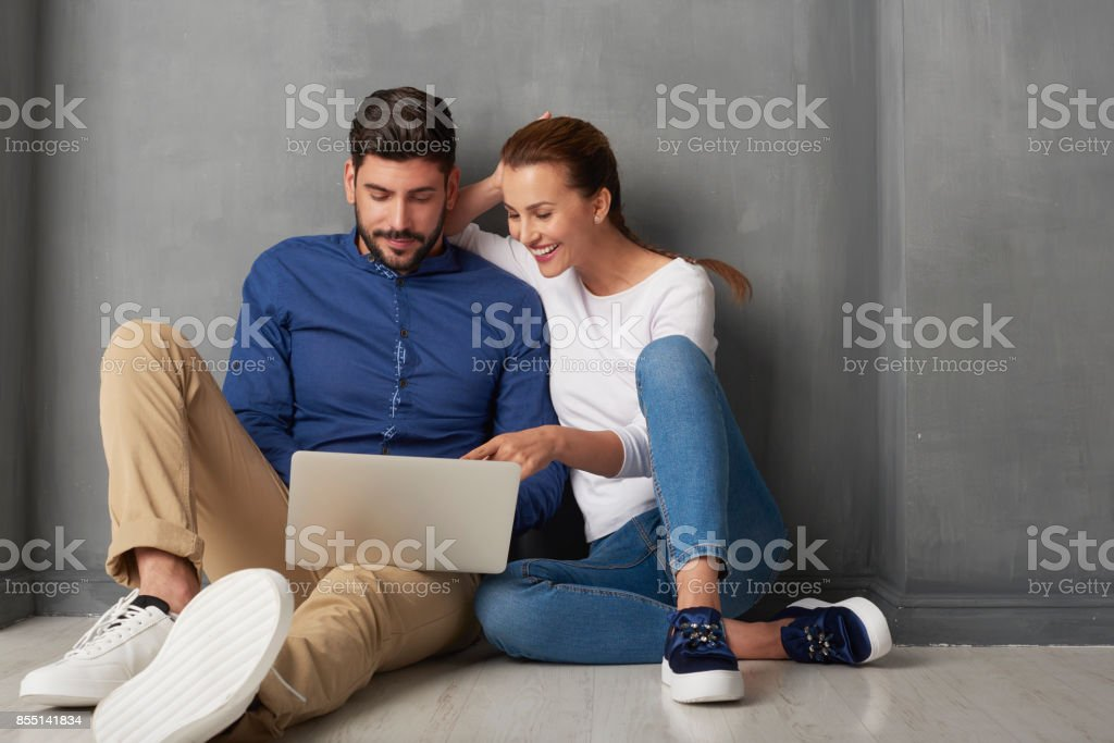 Shopping sur internet - Photo