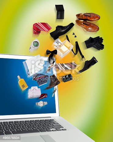 istock Shopping online 495576534