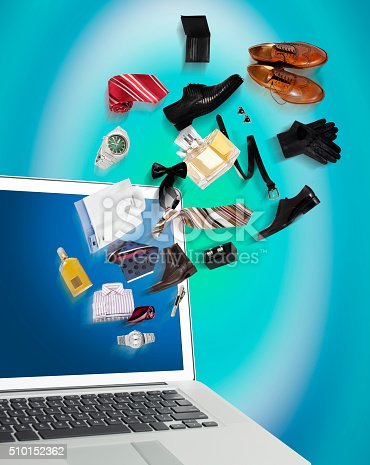 istock Shopping online 510152362