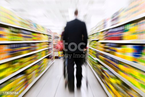 istock Shopping (Motion Blur) 173030164