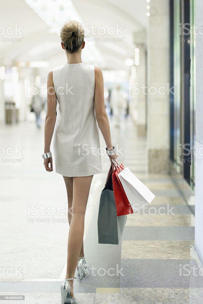Shopping - Lizenzfrei Anmut Stock-Foto
