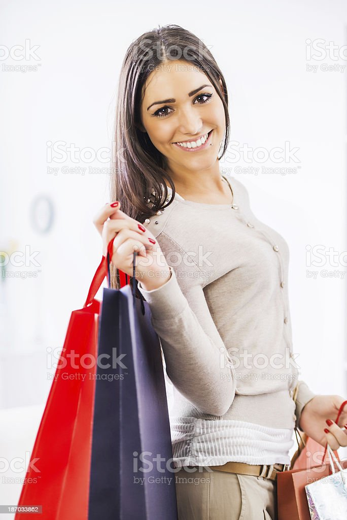 Shopping! royalty-free stock photo