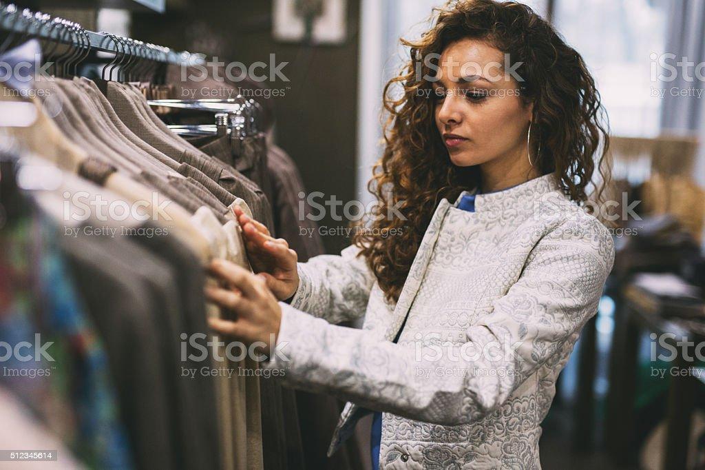 De compras - foto de stock