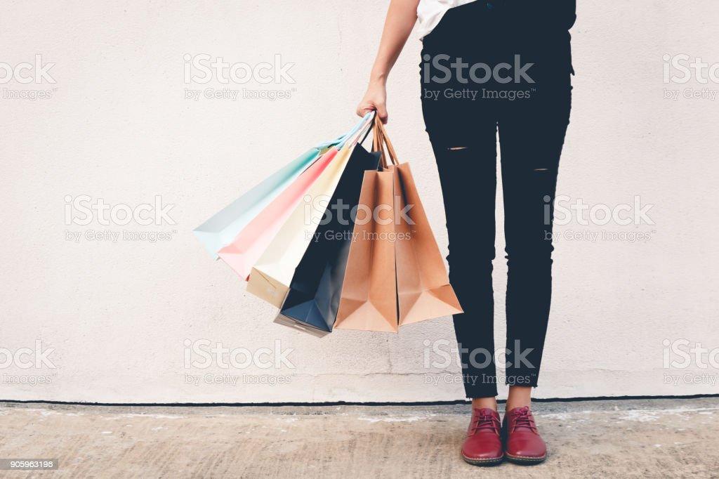 winkelen - Royalty-free Archiefbeelden Stockfoto
