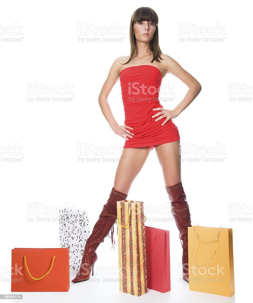 Lo shopping foto stock royalty-free