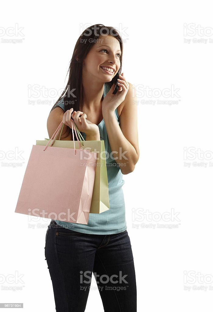 Shopping royalty free stockfoto
