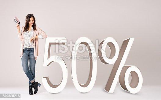 istock Shopping rebate 619525216