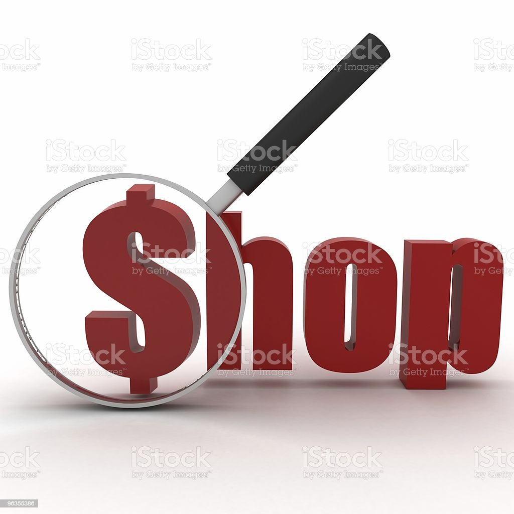 Shopping Sale royalty-free stock photo