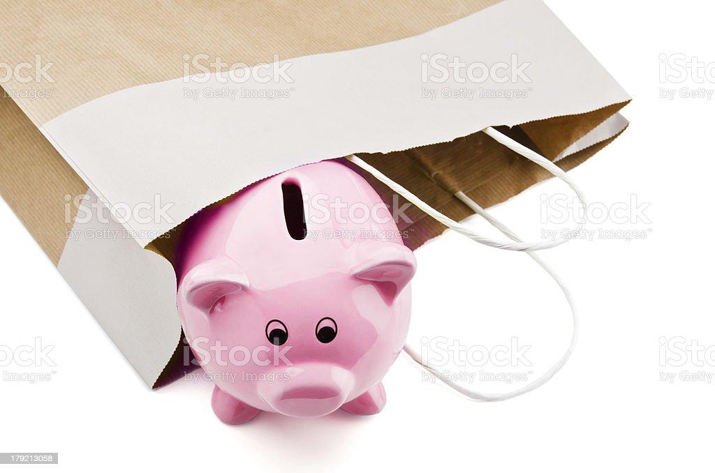Shopping sale savings stock photo
