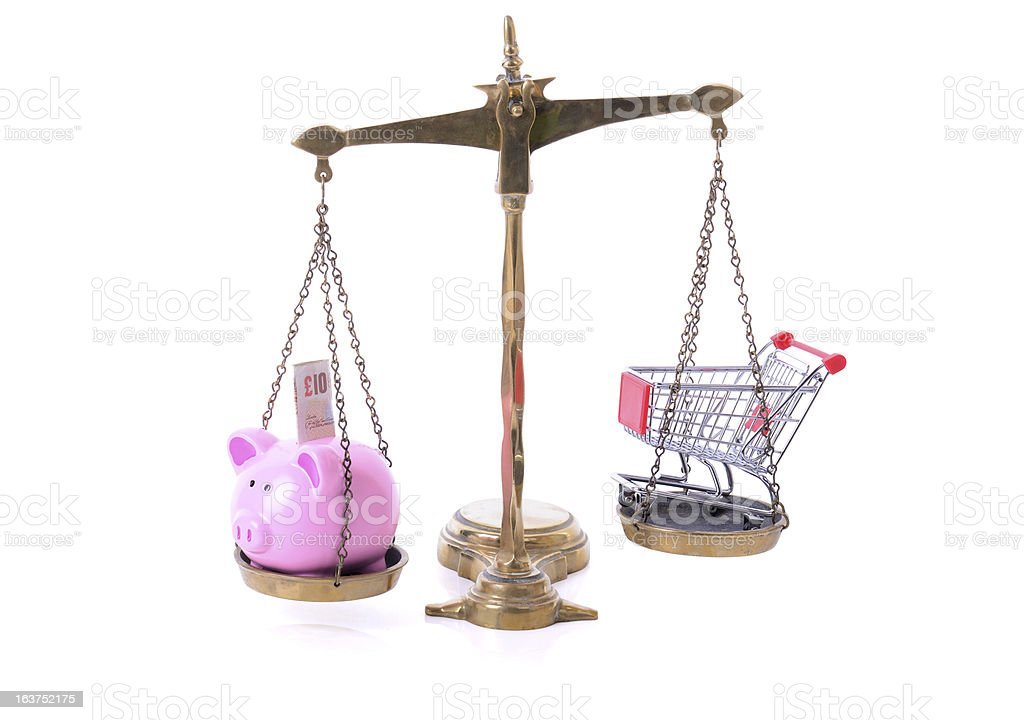 shopping savings royalty-free stock photo