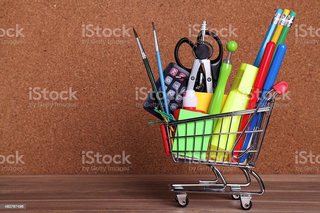 Shopping Schulzubehör – Foto