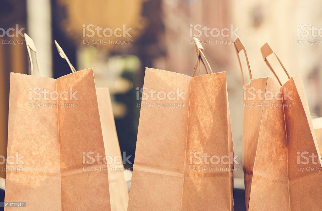 Shopping season stock photo
