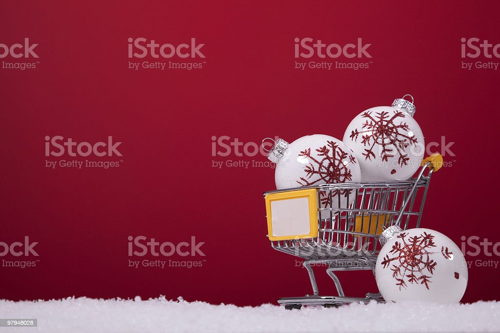 Shopping season royalty-free stock photo