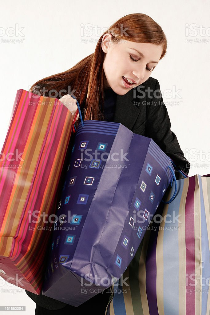 Shopping series royalty-free stock photo