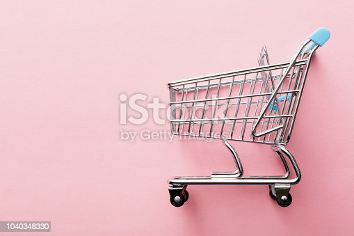 Shopping: Shopping Cart Still Life