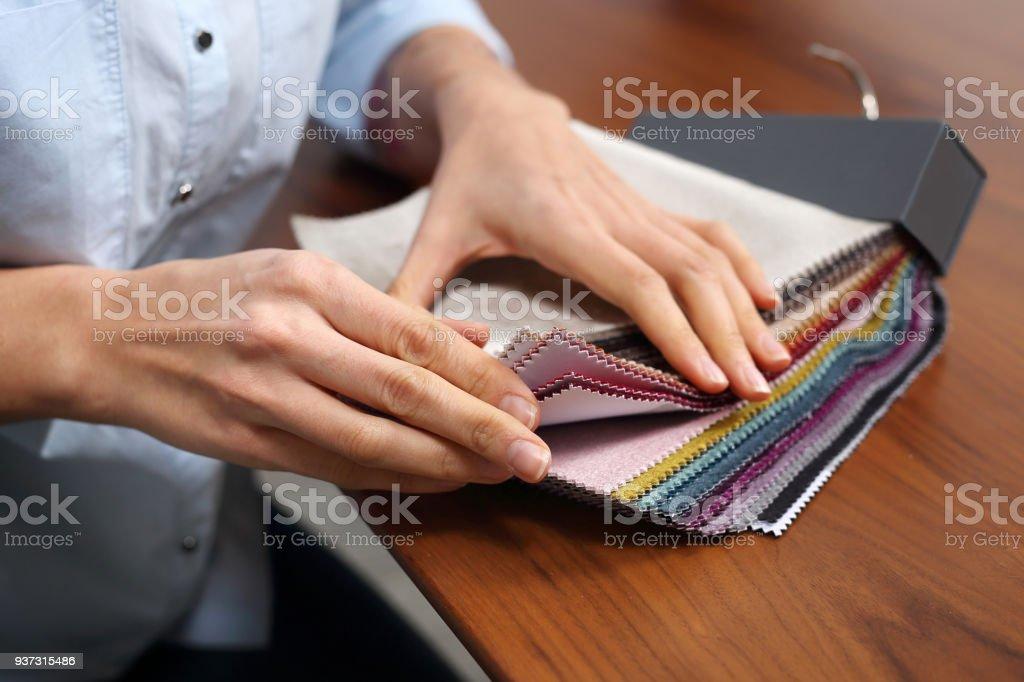 Sofas, Wahl der Farbe Polster einkaufen. – Foto