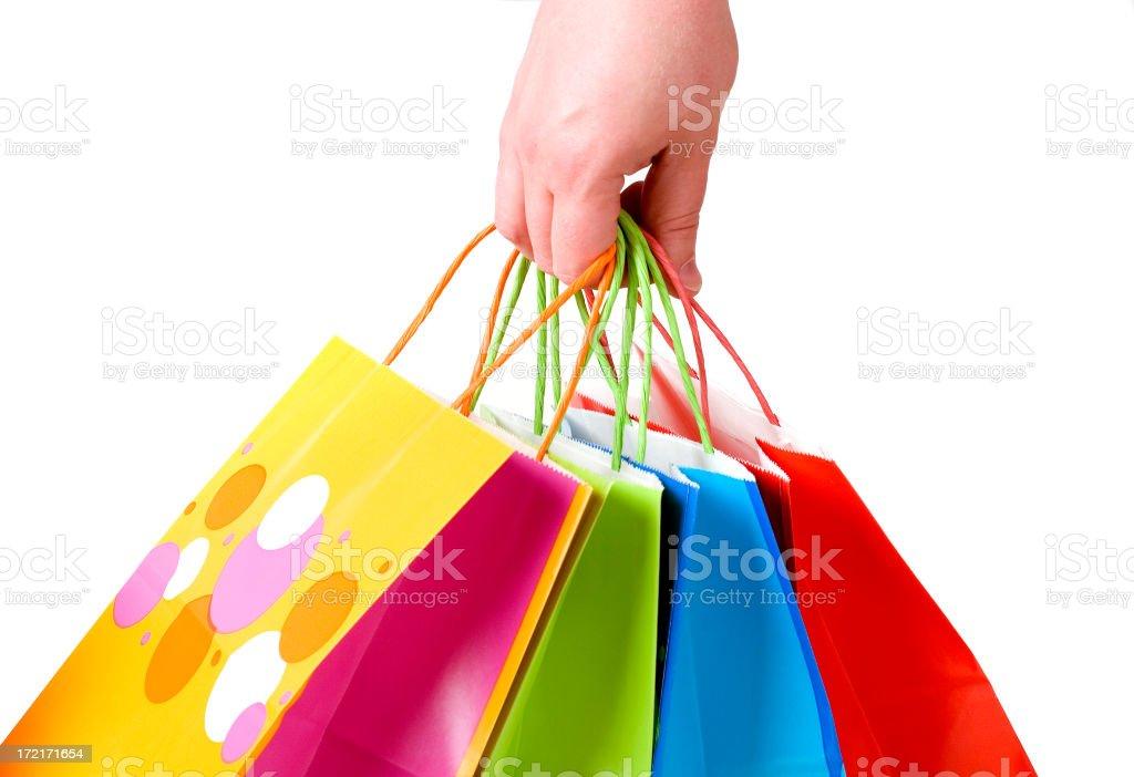 Shopping spree royalty-free stock photo