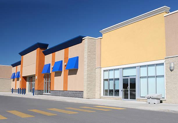 Shopping Stores stock photo