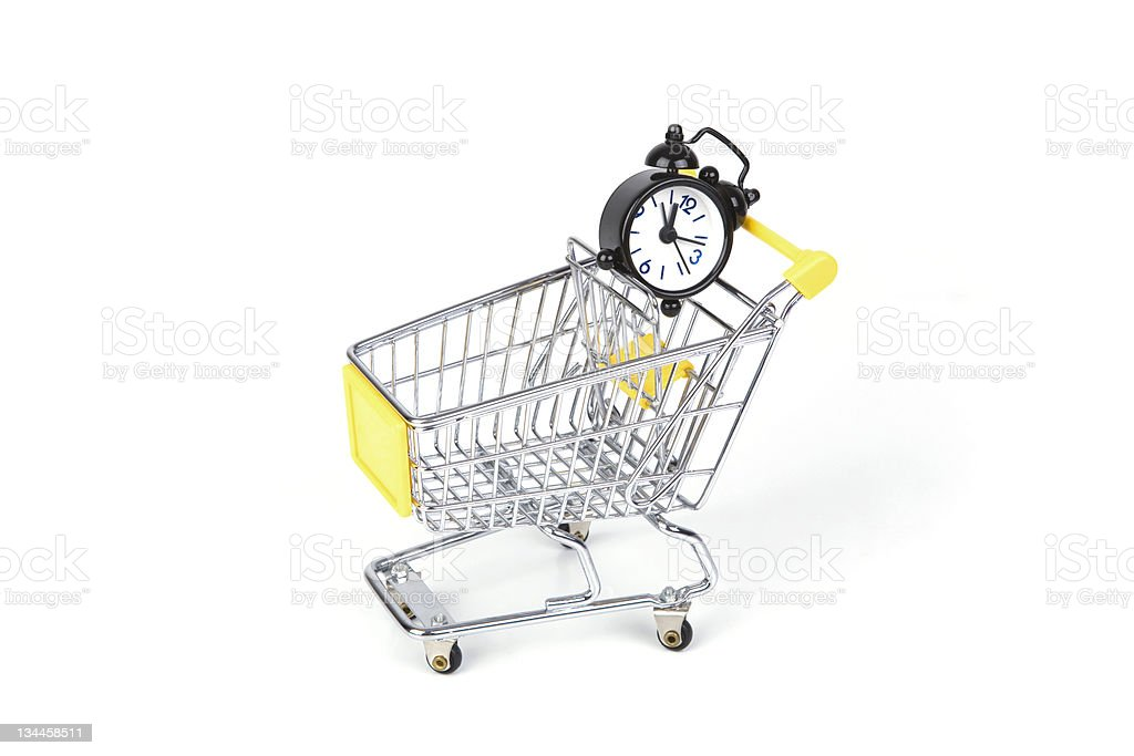 Shopping Time royalty-free stock photo