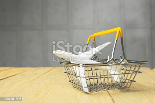 Shopping trolley, aircraft