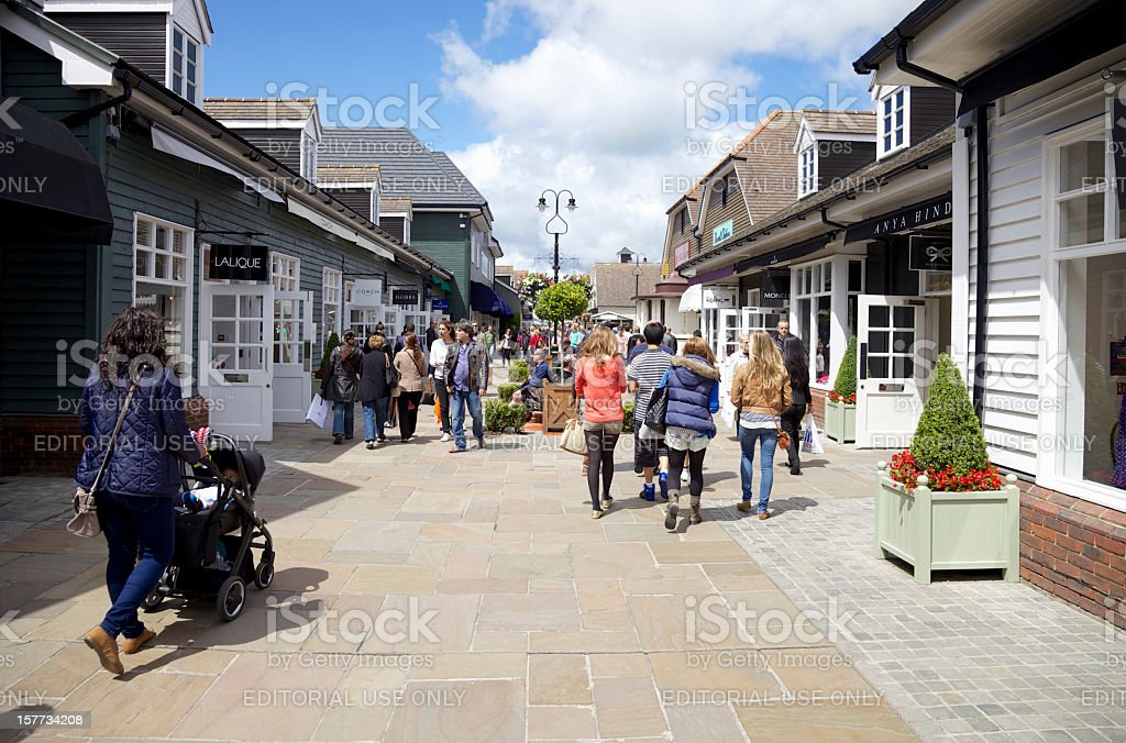 Shopping Village... royalty-free stock photo