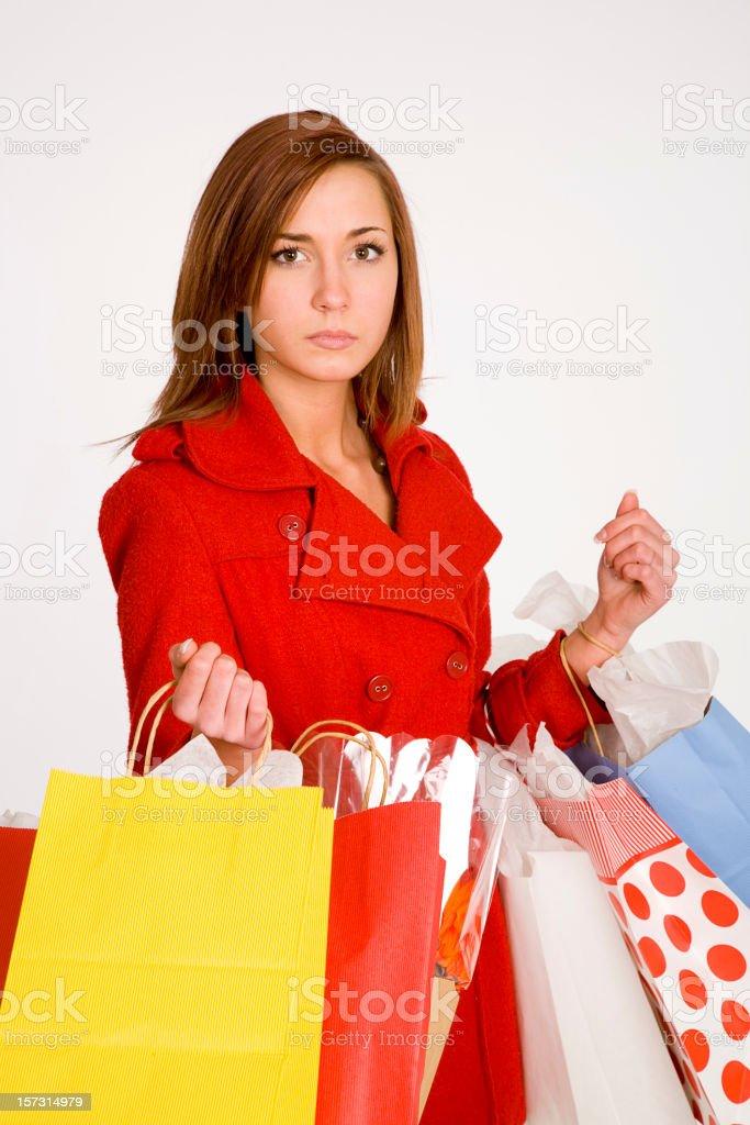 Shopping Woman royalty-free stock photo