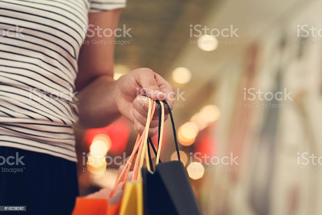 Shopping Frau  – Foto