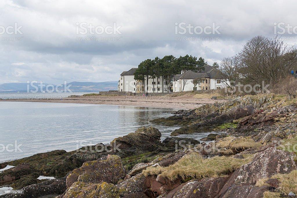Shore and flats royalty-free stock photo