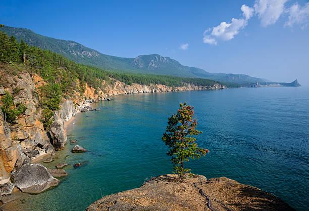 Ufer des Lake Baikal – Foto