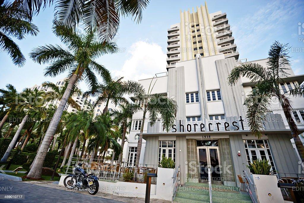 Shorecrest Hotel, Miami Beach royalty-free stock photo