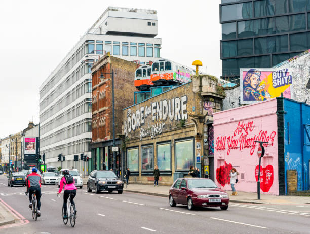 Shoreditch Stadtstraße – Foto