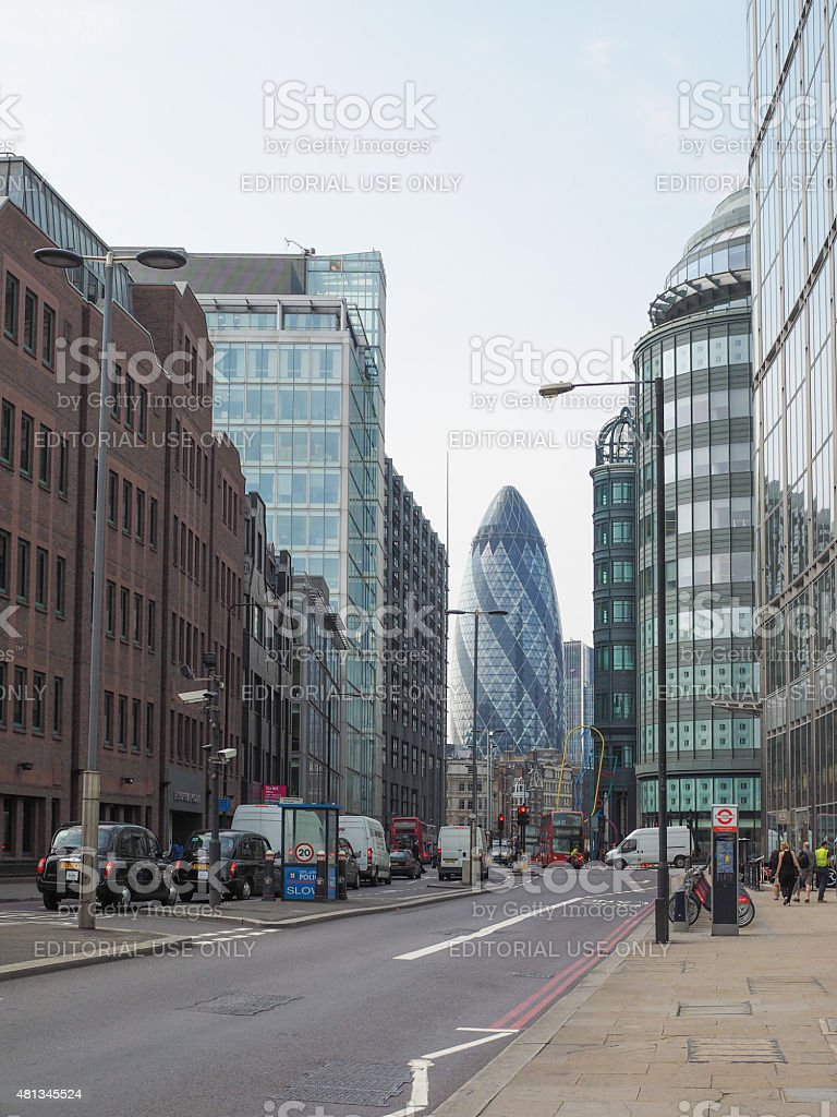 Shoreditch London Uk: Shoreditch High Street In London Stock Photo